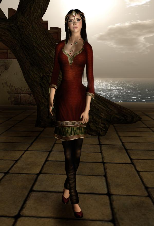 Zaara Outfit & Flats