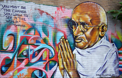 ghandi's change - trenton, nj by eL hue V