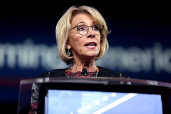 betsy devos secretary education cpac conservative political action conference 2017 national harbor maryland