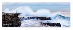 Brave photographer (jongsoolee5610) Tags: seascape sydneyseascape sydney australia sea wave photographer maroubra flickrtravelawared
