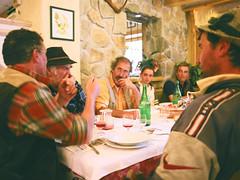 un momento conviviale (giancarlo rado) Tags: lagorai trentino pastori sheperd sheperds alpi alps gregge flock sheep pecore carlzeiss italy travell people workingpeople nordest picturespeopleitaly