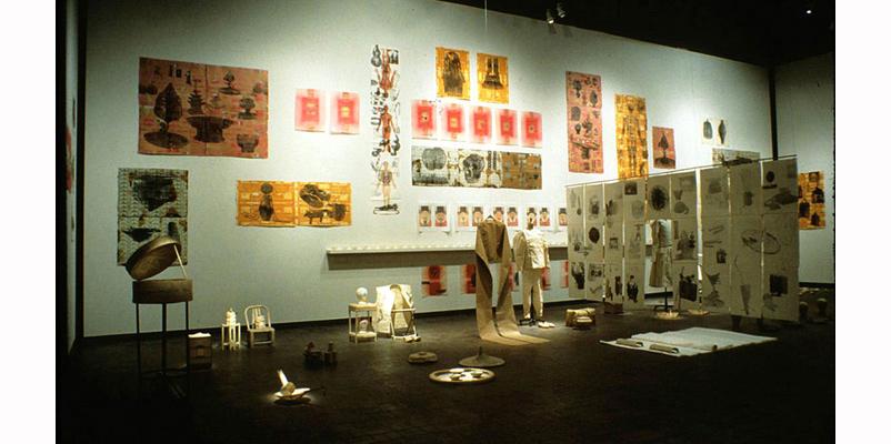 Burning History (1997) by Paul Wong