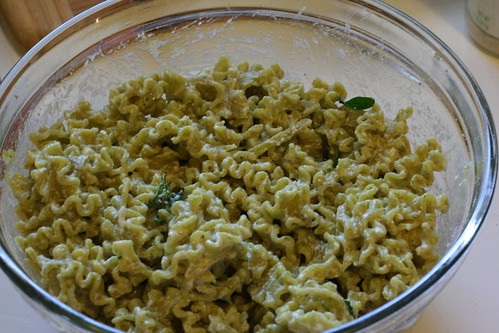 Lemony Ricotta Pasta