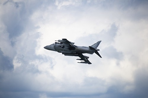 Air Show: Harrier Jump Jet (by John Brainard)