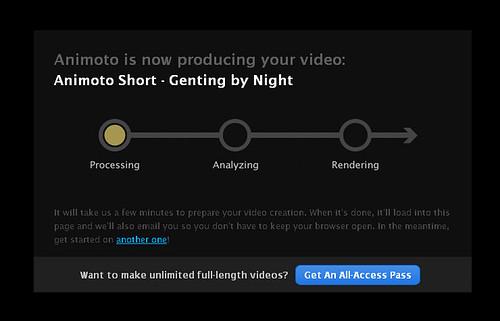 Animoto - Producing Video