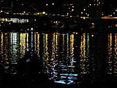 Just Forget the World (gonisj) Tags: river couple pittsburgh independenceday waterreflections