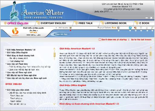 American Master 1.0 - học tiếng anh thật dễ