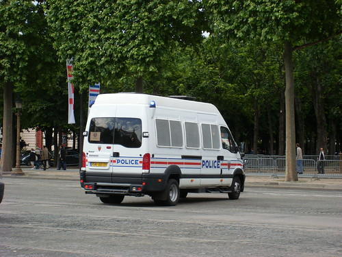 Renault Mascott Police Nationale (Paris)