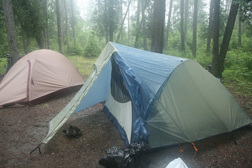 Wet Tents in Acadia