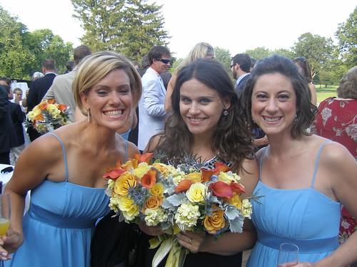 Lauren, Meg et moi