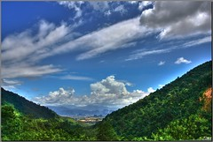 Going down to valley (Lohb) Tags: canon valley ipoh hdr 1740 40d