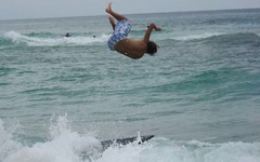 Major bail (bushleaguer_2006) Tags: beach skimboard skimming