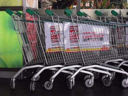 1 shopping carts by Auswandern Malaysia