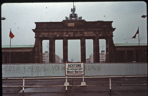 Berlin - Brandenburger Tor - February 1982