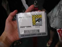 My pro badge