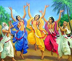 ISKCON desire tree - The Panchatattva (ISKCON Desire Tree) Tags: vishnu demon krishna garuda kidnap radha gopis rukmini chaitanya radhakrishna iskcon narasimha madhava bhumi govardhan bhima lordvaraha