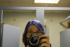 blue hair in the blue room (belphoebe) Tags: montreal anticipation 2009 worldcon