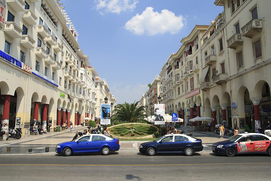Thessaloniki / Saloniki  / Grecja 2009 / Aristotelous Square