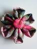 Mi primera Kanzashi (Cormorán) Tags: flor tela kanzashi