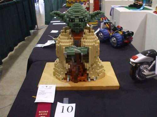 Prize-winning Lego Yoda