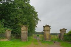 estate gates (jcw1967) Tags: estate gates views footpath hdr harewood hdrextreme
