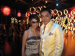 Sean Lau ching wan (Liz Lieu) Tags: liz lieu oncamera lizlieu pokerdiva propokerplayer pokercompetition hongkongstudio seanlauchingwan pokerkingmovie celebrityactor