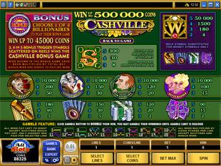 free Cashville slot mini symbol