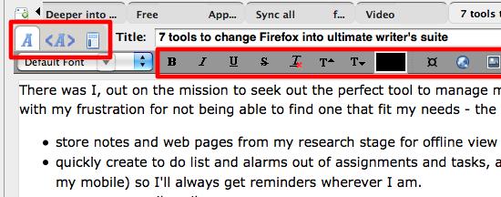 02 Firefox - ScribeFire