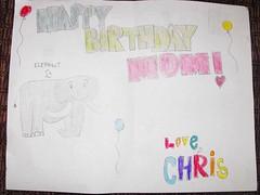 chris's card