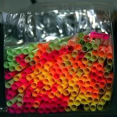 Straw Box (Heaven`s Gate (John)) Tags: strawbox drinking straws box colour color multicolour multicolor vivid dramatic creative imagination abstract stilllife art tabletop johndalkin heavensgatejohn macro closeup