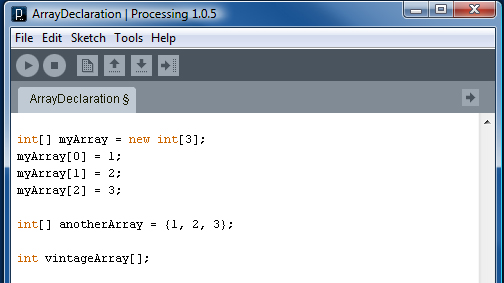 Array Declarations – Processing vs Arduino | DIY Robotics Lab