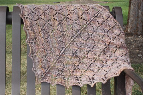Forest Canopy Scarf - Finished!