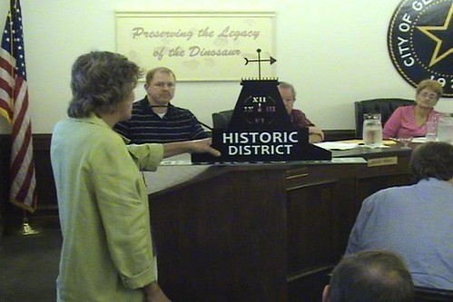 City of Glen Rose Town Council Meeting Sep 2009 by you.