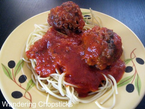 Spaghetti and Meatballs 1