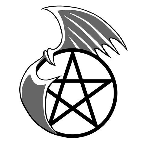pentagram tattoo designs. Pentacle Tattoo (Set)