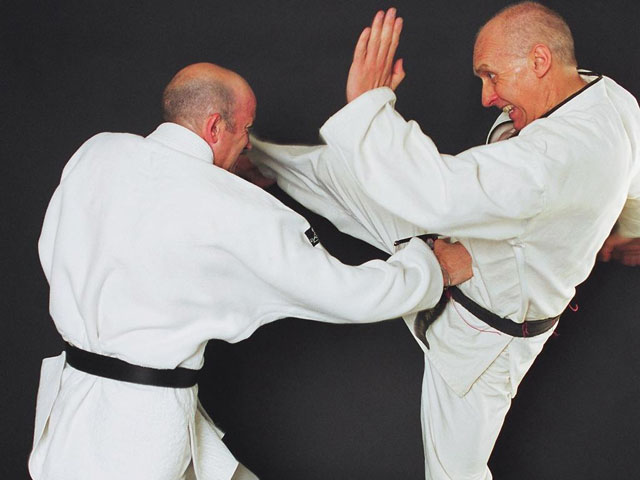 geoff thompson talks to SUBvert magazine about doing martial arts
