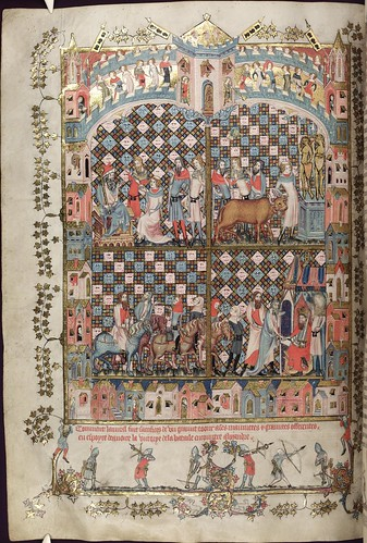 The Romance of Alexander 88v MS. Bodl. 264