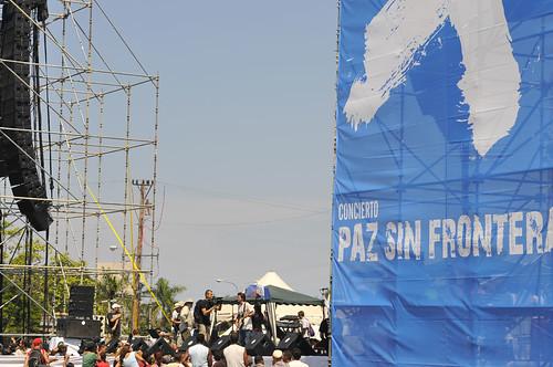 Juanes en La Habana, ensayo de Paz sin frontera por Concierto de Juanes por la Paz en La Habana.