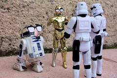 These are not the droids we are looking for (Stfan) Tags: toy actionfigure robot starwars stormtroopers moustache disguise r2d2 bignose stormtrooper figurine jouet droid c3po hasbro dguisement incognito project365 drode notthedroid stormtroopers365