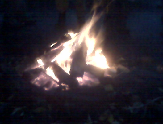 Bonfire by the Humber