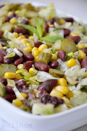 Mısırlı Meksika Salatası