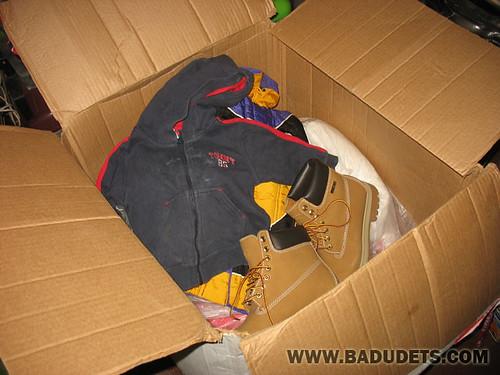 goodies inside the box