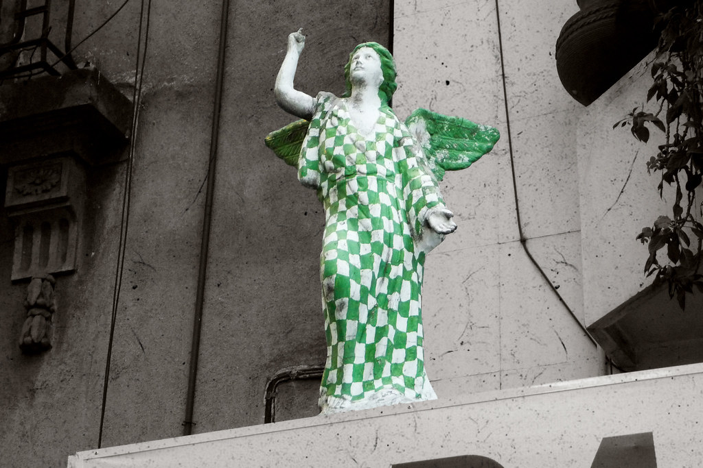 Angel With A Chequered Past