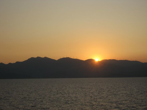 Sunset over Cap Corse