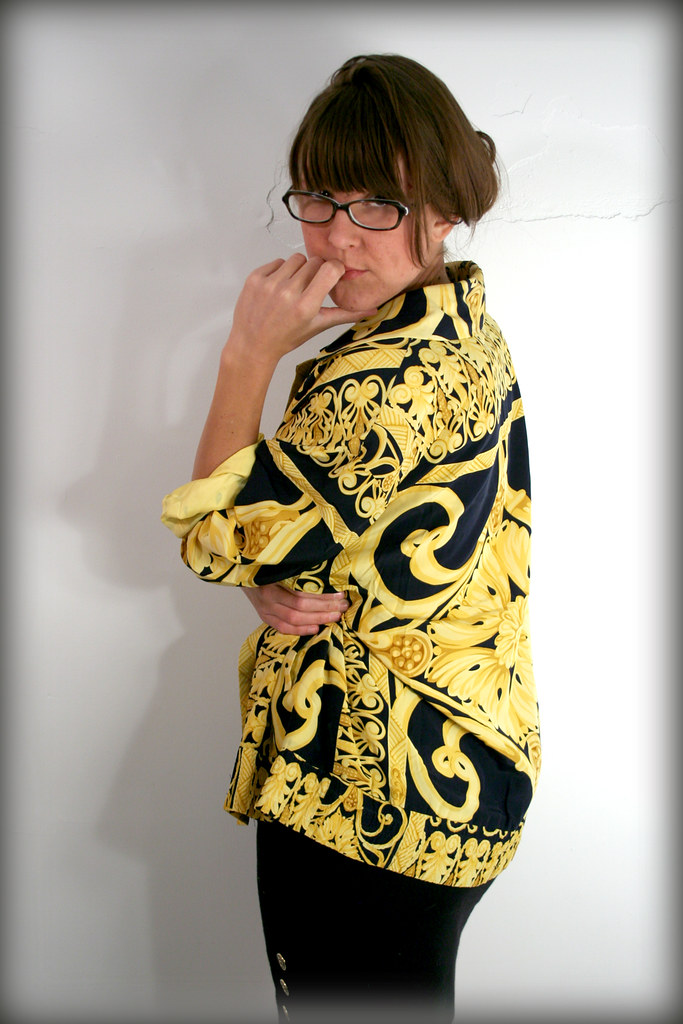Incredible Silk Golden Delusion Jacket