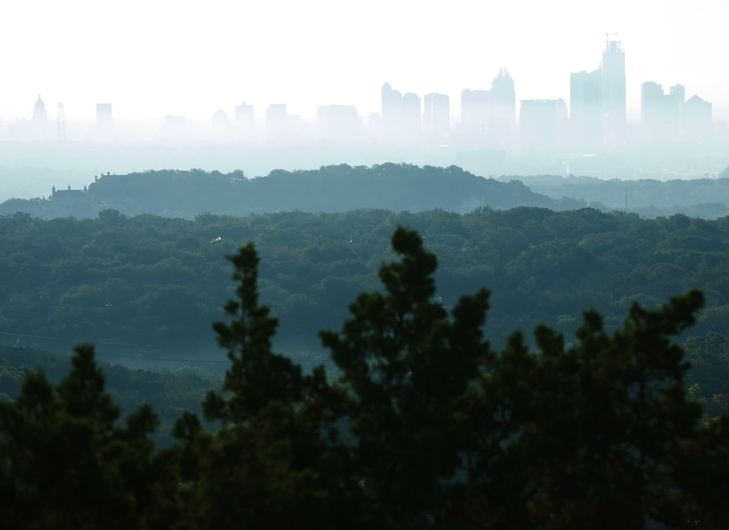 Thanks to Scottolini at SkyscraperPage for finding this amazing photo of downtown Austin