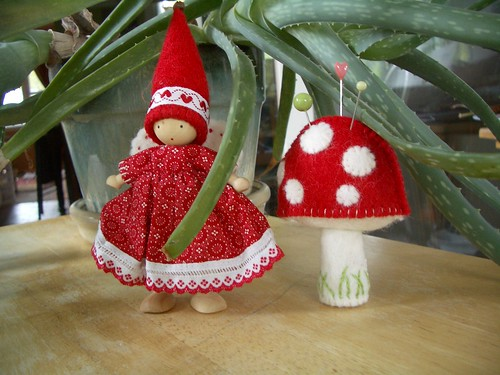 nz fairy and mushroom