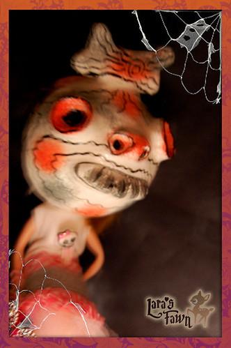 El Orfanato y sus niños-OOAK HALLOWEEN Custome Set for Blythe Dolls