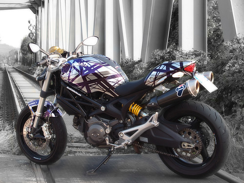 Ducati Monster Art Ducati Club Torino