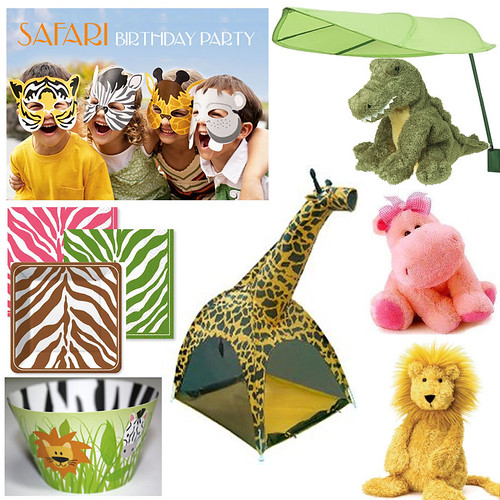 Safari Inspiration Board